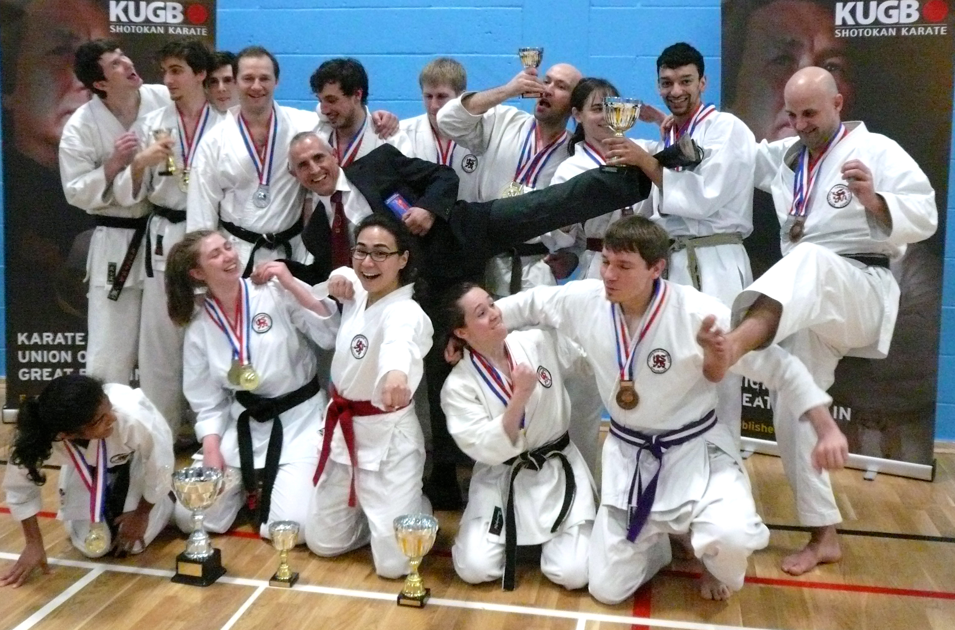 CUKC triumphs at Central Regions
